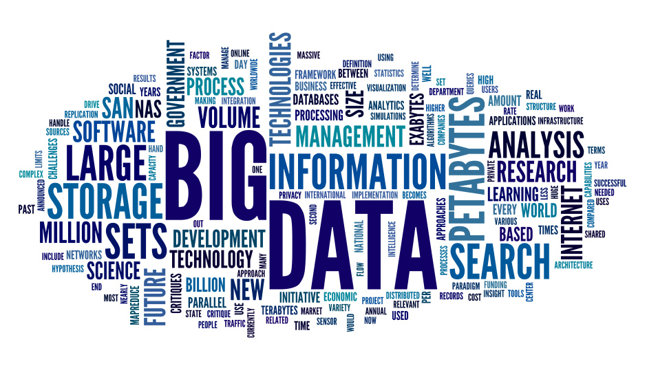 Big data concept in word tag